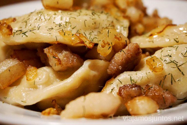 Varenyky. Qué comer en Ucrania. Recetas de platos tradicionales ucranianos.