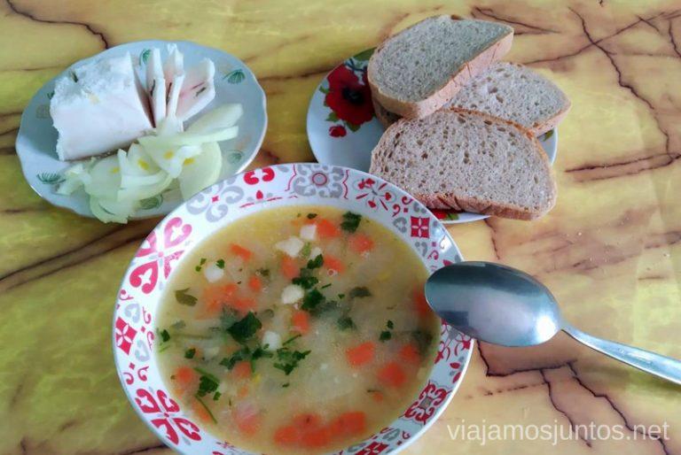 Gastronomía de Ucrania. Qué comer en Ucrania. Recetas de platos tradicionales ucranianos.