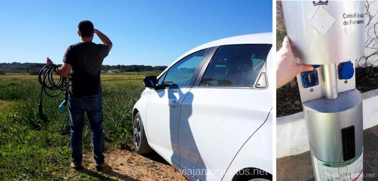 A ver dónde cargamos nuestro coche eléctrico en Formentera