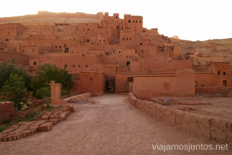 Ciudades de arcilla en Marruecos.