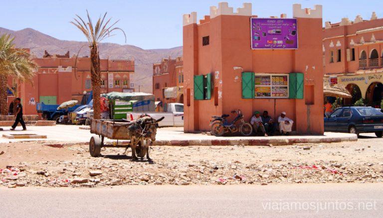 Comprar en los mercados de Marruecos.