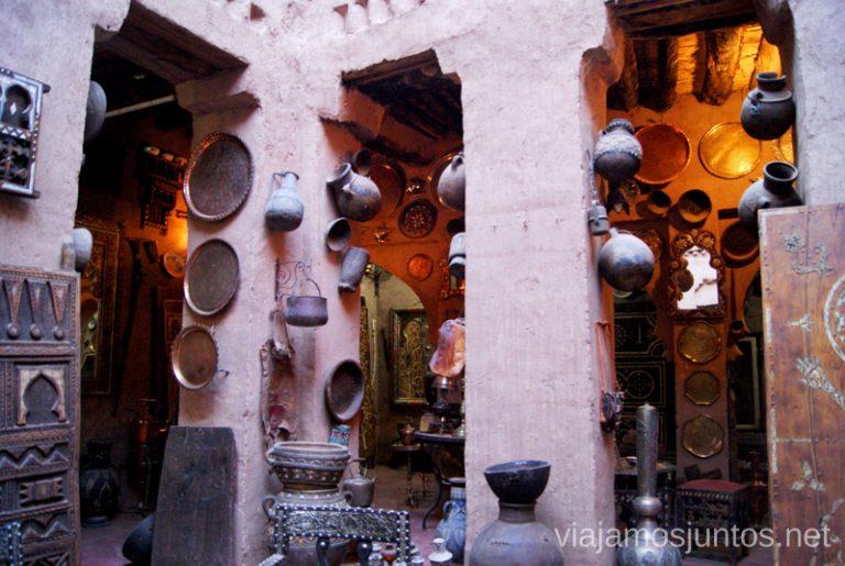 Casa-tienda en Marruecos