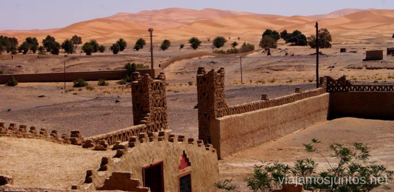 Desierto de fondo. Marruecos