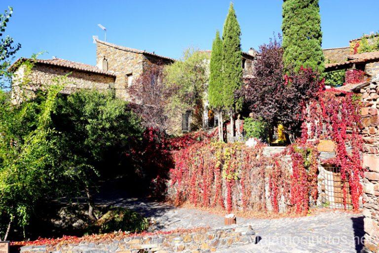 Rincones de Patones de Arriba, España.