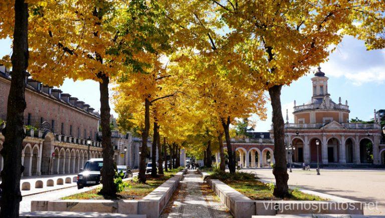 Aranjuez en otoño.