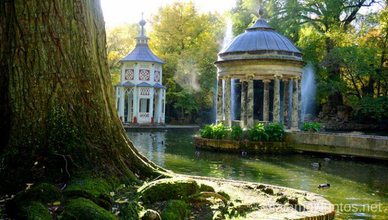 Los parques encantadores de Aranjuez.