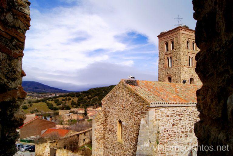 La iglesia de Buitrago de Lozoya. Comunidad de Madrid.