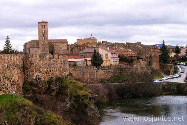 Pueblo amurallado de Buitrago del Lozoya, en la Comunidad de Madrid.