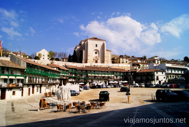 La plaza Mayor de Chinchón, considerada una de las más bonitas de España.