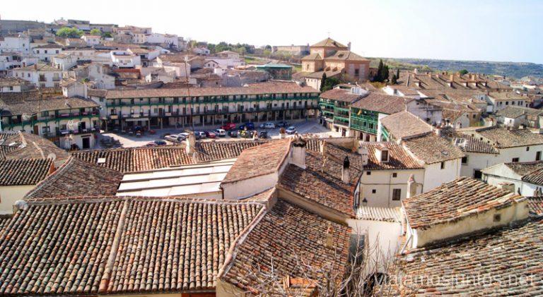 Vista panorámica de Chinchón, uno de los pueblos más bonitos de la Comunidad de Madrid.