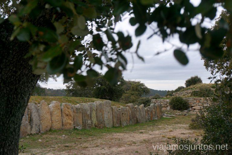 """Castro vetón """"La Mesa de Miranda"""" en Valle de Amblés y Sierra de Ávila."""