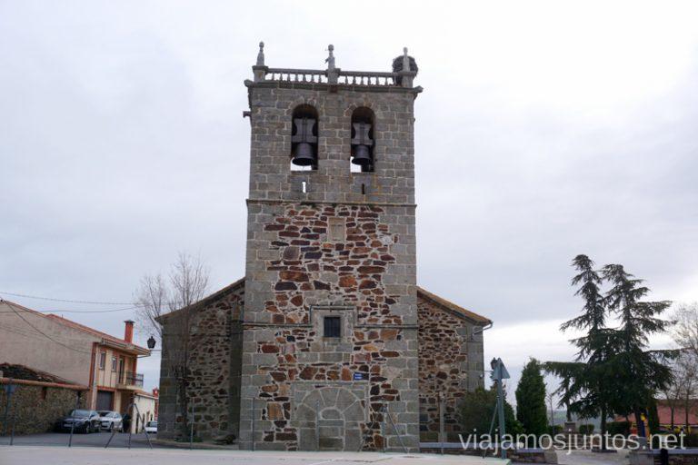 Iglesia de la Santa Cruz en Solana de Rioalmar.