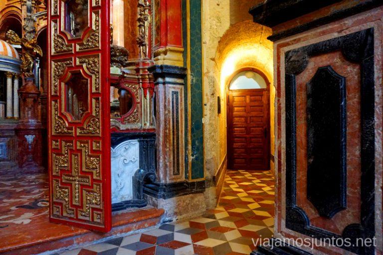 Interior del Monasterio de Santa María de el Paular en Rascafría.
