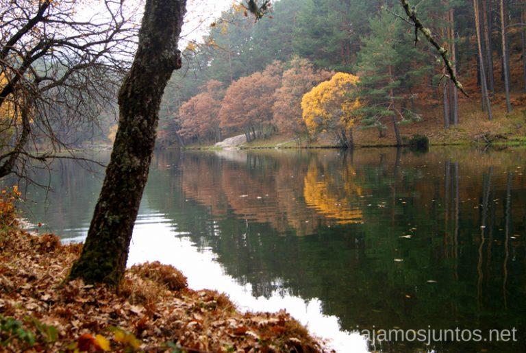 Presa del Pradillo en otoño.