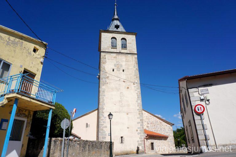 Iglesia de Rascafría. Qué ver y qué hacer en Rascafría, Comunidad de Madrid