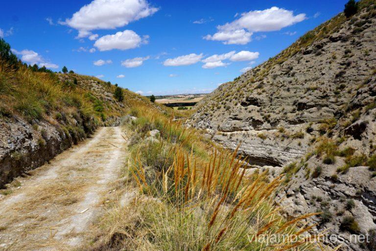 Camino a las Salinas de Carcaballana o de Buenamesón.
