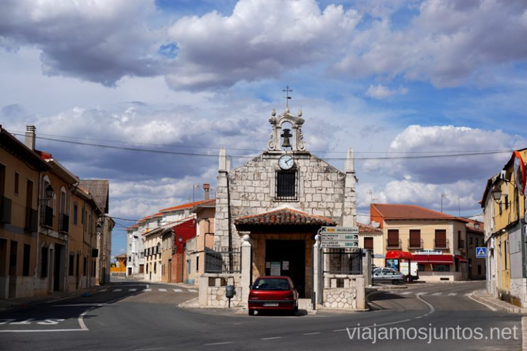 Ermita entre carreteras, Colmenar de Oreja, Comunidad de Madrid.