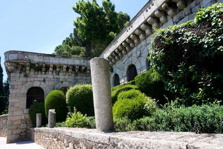 Palacio de Villena, Cadalso de los Vidrios.