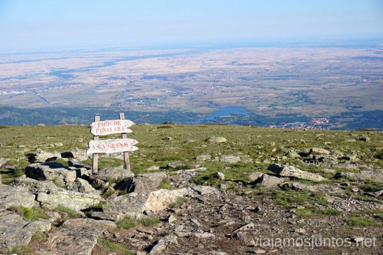 En la cima de Peñalara toca decidir: ¿ahora a dónde?