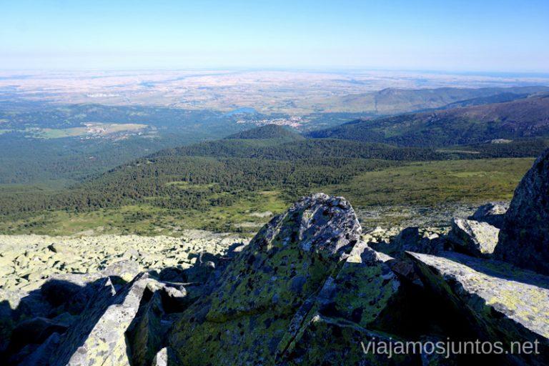 Desde el Risco de los Claveles. Ruta Integral (circular) de Peñalara y otras rutas de senderismo en el Parque Natural de Peñalara, Comunidad de Madrid