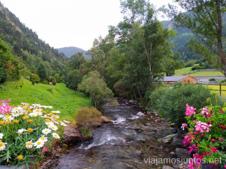 Paseo entre La Cortina y Llorts, Andorra.