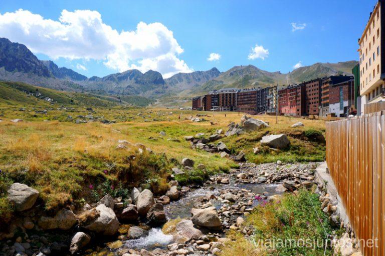 Paseo en Pas de la Casa, Andorra.