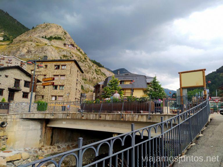Paseo en Canillo, Andorra.