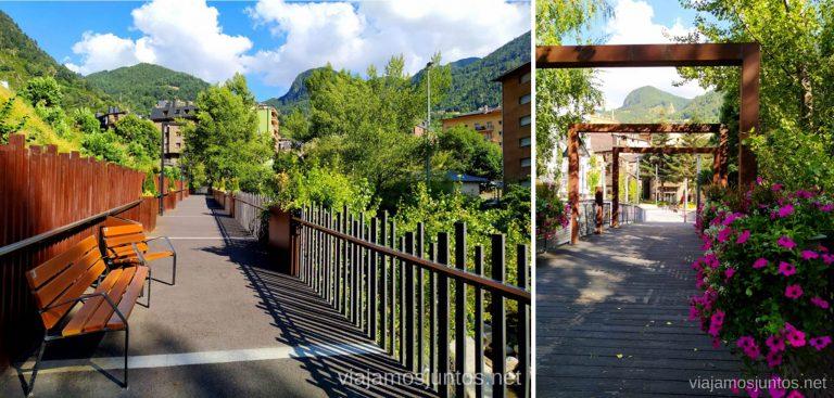 Pasarelas de Encamp, Andorra.