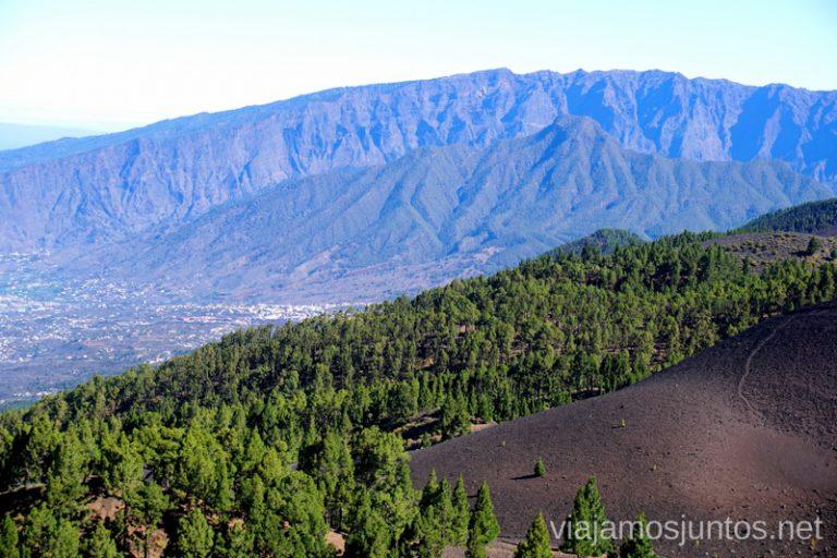 Caldera de Taburiente desde la Ruta de los Volcanes, La Palma.
