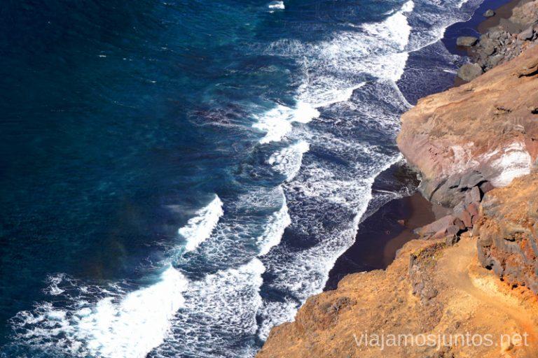 Rutas de senderismo en la costa de la Palma.