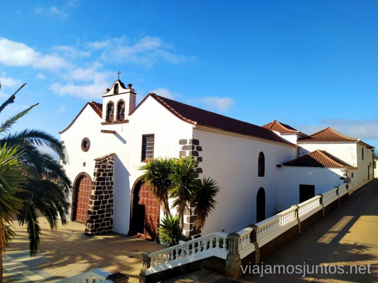 La iglesia de Santo Domingo de Garafía.