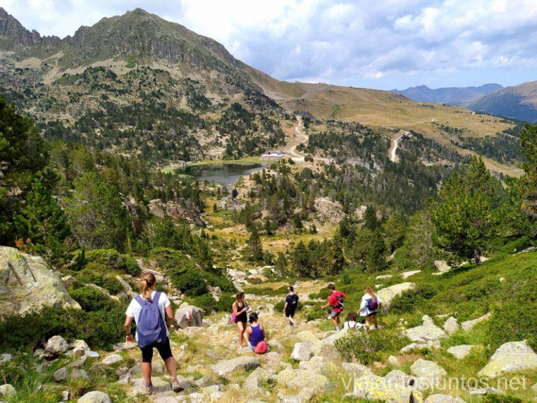 Bajada desde Collada de Montmalús, Andorra.