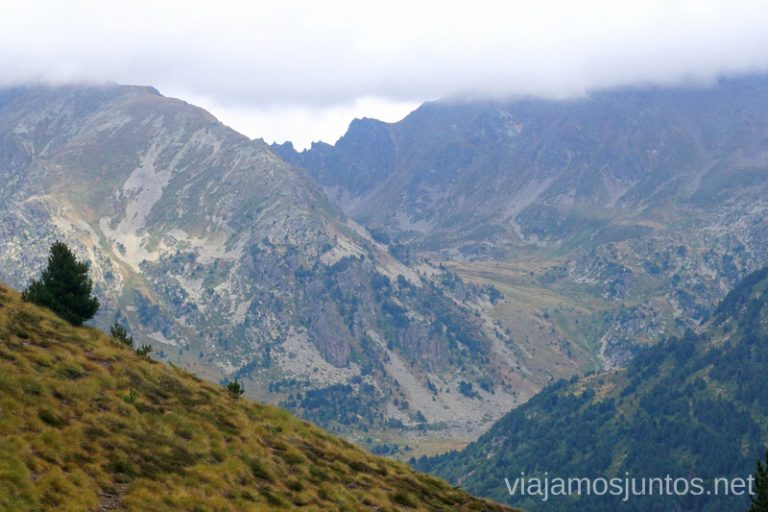 Valle d'Incles. Ruta del Estany de Querol, Andorra.