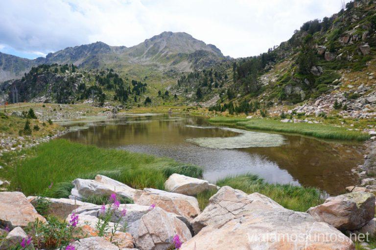 Estany Coma Estremera. Andorra.