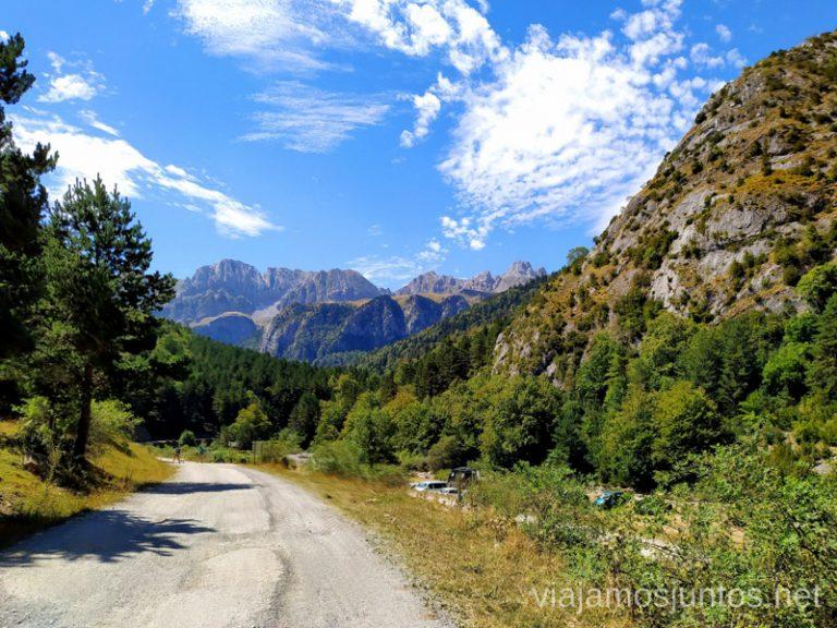 Rutas de senderismo en el Valle de Hecho, Aragón.
