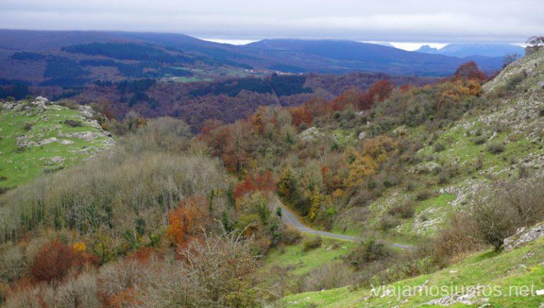 Vistas desde la Ermita Nuestra Señora de Oro, Gorbea. Rutas de senderismo en el País Vasco. Qué ver y qué hacer.