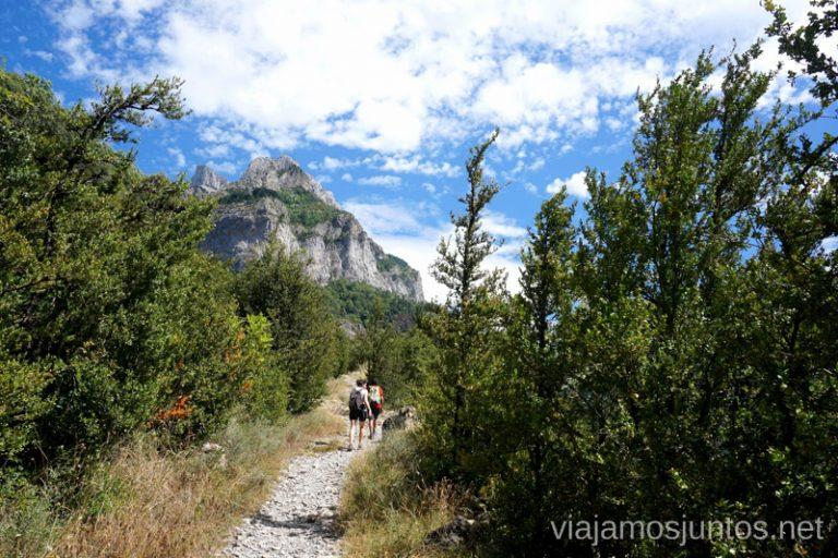 Calzada Romana Qué ver y hacer en el Valle de Hecho (Echo), Jacetania, Huesca, Aragón
