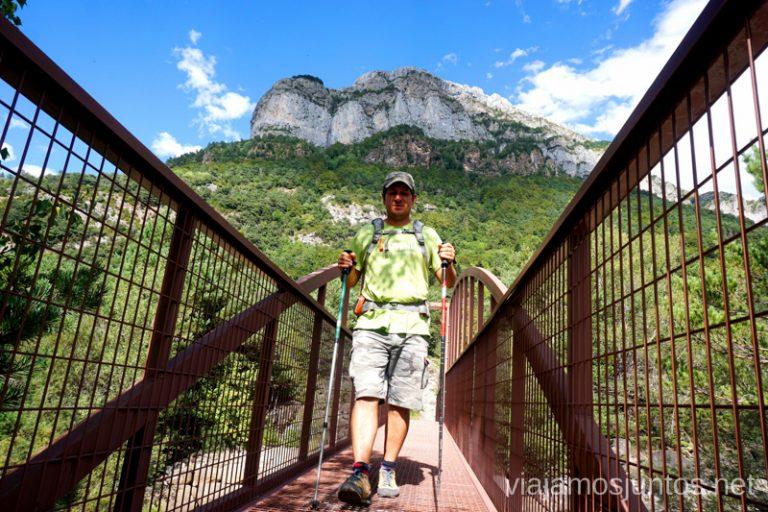 Terminando la Senda de los Ganchos Qué ver y hacer en el Valle de Hecho (Echo), Jacetania, Huesca, Aragón
