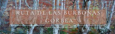 Ruta de las Burbonas, Parque Natural de Gorbeia (Gorbea), País Vasco.