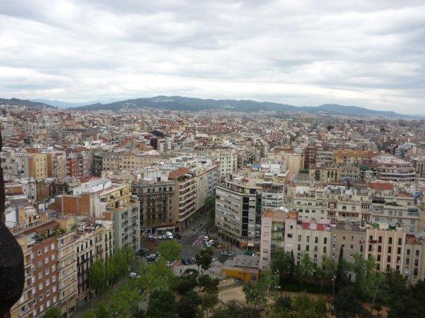 Barcelona desde las alturas.