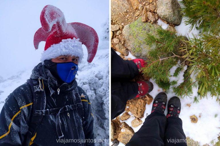 Equípate bien para disfrutar de la nieve al máximo. Consejos para realizar rutas de senderismo en invierno y con nieve.