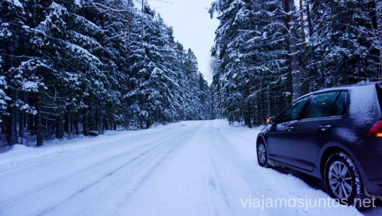 Si no te ves seguro, practica antes en un lugar seguro. Consejos para realizar rutas de senderismo en invierno y con nieve.