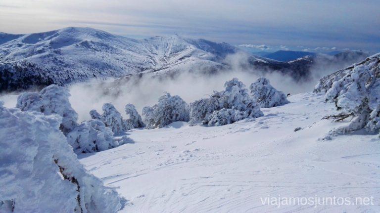 Montañas en invierno son mágicos. Consejos para realizar rutas de senderismo en invierno y con nieve.