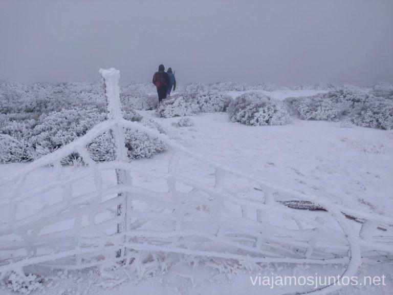 Preparación es la clave para realizar rutas de senderismo en invierno.