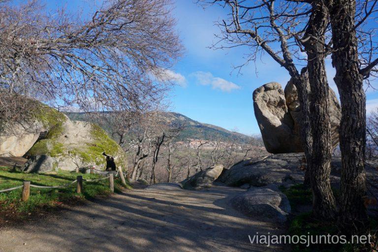 Comienzo de la ruta de las Machotas. Rutas de senderismo en la Comunidad de Madrid. San Lorenzo de El Escorial