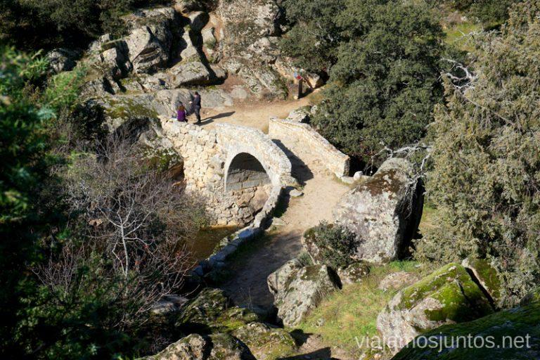 Puente medieval del Pasadero, Navalagamella.