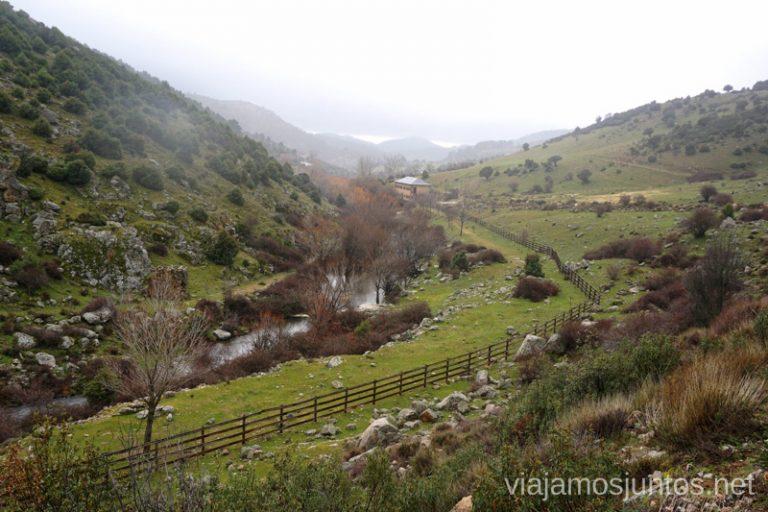 Valle del río Aceña.