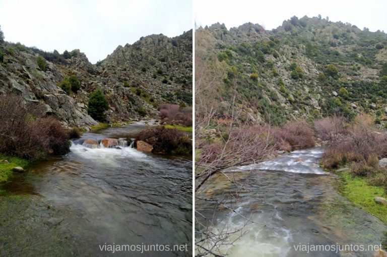 Río Aceña, Sierra Oeste de Madrid.