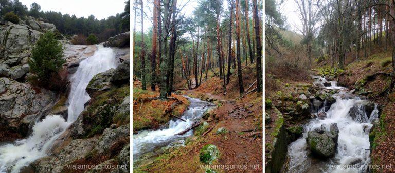 Acercándonos a la Cascada del Hornillo. Rutas de senderismo en la Sierra Oeste de Madrid