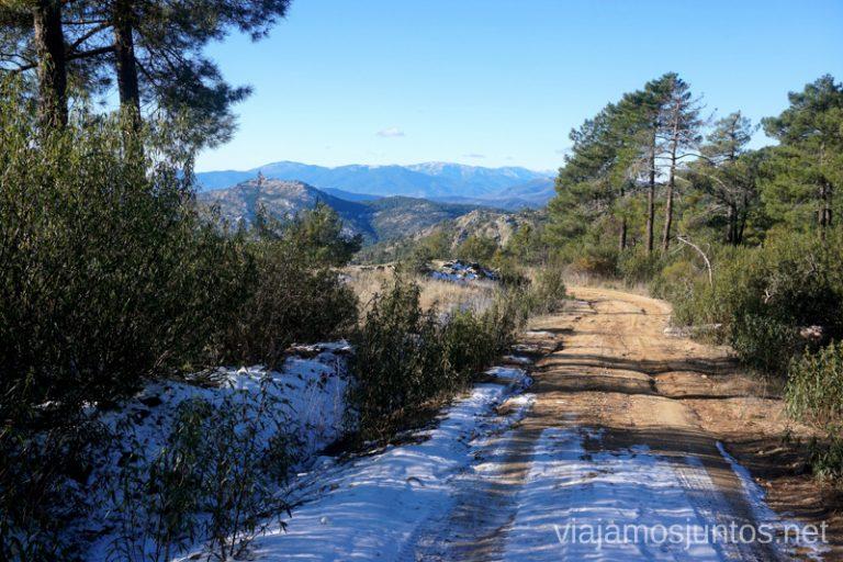 Primera subida en laruta del Cerro de Santa Catalina.